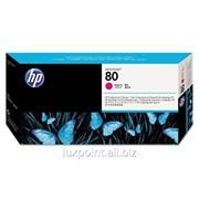 Тонер-картридж HEWC4822A - HP 80 Magenta Printhead/Cleaner фото