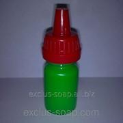 Пигмент жидкий флуоресцентный зелёный-10 мл фото