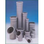 Трубы и фитинги канализационные фото