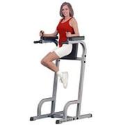 Профессиональный тренажер Body Solid Боди Солид GKR-60 Вертикальная стойка «пресс + брусья» фото