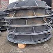 Люк дорожный сверхтяжелый СТ (Е600) -4-5-65 фото