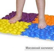 Массажный коврик для лечения и профилактики плоскостопия фото