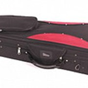 VC-G300-BKR-3/4 Футляр для скрипки размером 3/4, черный/красный, Mirra фото
