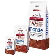Monge Dog 2,5кг Speciality Mini Сухой корм для взрослых собак мелких пород Ягненок с рисом и картоф фото