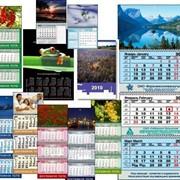 Офсетная печать календарей фото