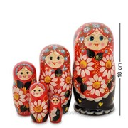 Матрешка 5-кукольная (Семеновская) МР-10/20 фото