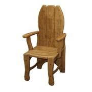 Кресло с подлокотниками (массив дуба) фото