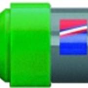 Маркер для белых досок, клиновидный наконечник, 2-7 мм Зеленый фото