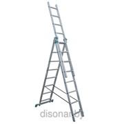 Лестница трехсекционная фото