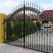 Ворота дизайнерские в Кишиневе фото