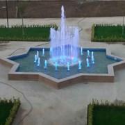 Строительство фонтана фото