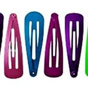 Зажим 208068 BBox LT 3275 металлический для волос разноцветный микс см_5,5*1,5 в уп.12 шт. ( цена за 1 уп.) фото