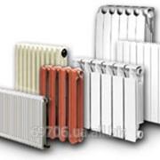 Замена радиаторов отопления, замена батарей. фото