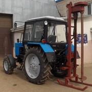 Бурильная установка на базе трактора МТЗ фото
