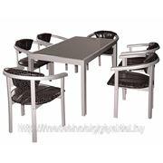 Мебель из нержавейки фото