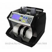 DV-85 Счетчик банкнот LD, до 1500 б/мин, распознавание 16 валют, ЖК-дисплей, ИК, УФ, 3D снятие образа, магнитная, автостарт, загрузчик на 500 банкнот фото