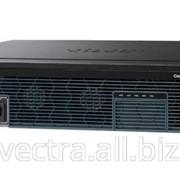 Маршрутизатор Cisco 2921 w/3 GE,4 EHWIC,3 DSP, 1 SM,256MB CF,512MB DRAM,IPB (CISCO2921/K9) фото