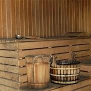 Баня на дровах фото