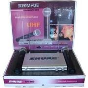 Shure SH-500 2 радиомикрофона цена 699грн фото