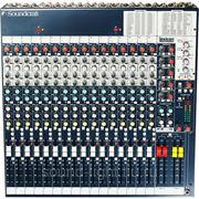 Soundcraft FX16ii Профессиональный универсальный концертный студийный микшерный пульт с процессором эффектов фото