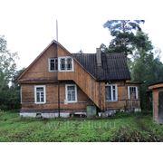 Жилой дом с мансардой фото