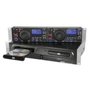 Профессиональный 2-х карманный 2U рэковый CD проигрывател GEMINI CDX-2400 фото