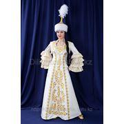 Прокат казахских свадебных платьев на Кыз узату от Дилижанс фото