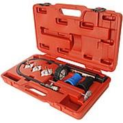 JTC-1414 Набор инструментов для тестирования герметичности охладительной системы 7 предметов в кейсе JTC фото