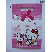 Подарочный пакет Hello Kitty, 17х26 см фото