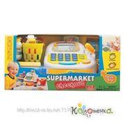 Магазин Keenway Набор-супермаркет: кассовый аппарат,микрофон ,продукты - свет , звук [30242] фото