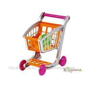 Магазин Ecoiffier Тележка с продуктами, 41,5*29,5*41,5 см, 1/8 [1225] фото