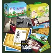 Печать поздравительных наборов, конверт и открытка фото
