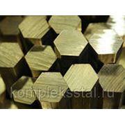 Шестигранник латунный 6 - 55 мм фото