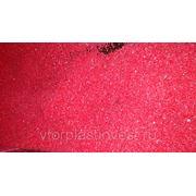 ПНД 277 Вторичный ПНД 277 (ПЭНД) красного цвета фото