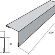 Уголок наружный КЗ 2 0,45мм матполиэстер фото