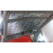 Шумоизоляция автомобиля в Алматы (потолок без люка) фото