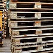 Поддоны деревянные 1200х800 EUR б/у фото