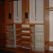 Гардеробная с лифтом (пантографом) фото