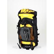 Рюкзак желтый 60 л с жесткой спинкой фото
