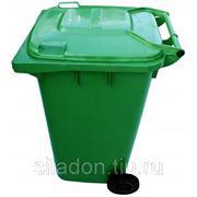 Евроконтейнер пластиковый 240 л фото