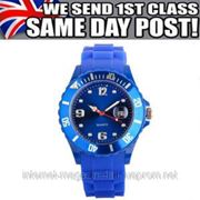 JELLY BOYS GIRLS MENS WOMENS LADIES WOMANS KIDS MANS WATCHES WRIST WATCH RUBBER фото
