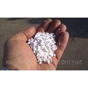 Полистирол дробленный ярко-белый фото