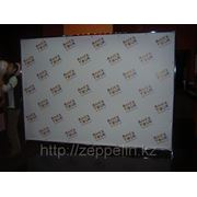 Пресс стена на конференцию. Аренда баннерных конструкций в Алматы фото