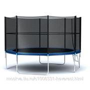 Батут Hegen External 12ft (366 см) SS13 синий фото