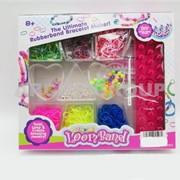 Набор для плетения браслетов из резиночек Loom Bands фото