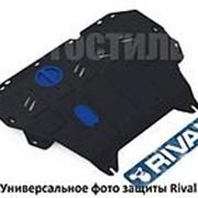 Защита картера и КПП Rival для Ford Edge (2014-...) сталь фото