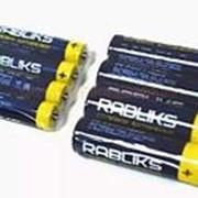 Батарейка 887469 ААА R 3 S_4 Rabliks (887476) солевая (1.5v) (уп.60 шт.) мизинчиковая фото