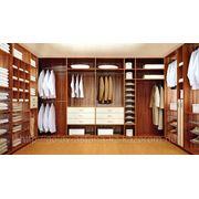 Изготовление мебели для гардеробных комнат фото