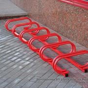 Велопарковка ВП-2 на 5 мест фото