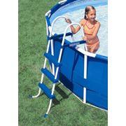 Лестница для бассейнов высотой 107см Intex 58907 фото